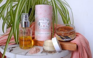 routine soin corps naturel