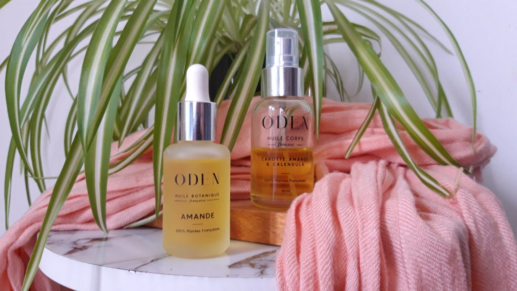 routine soin corps naturel avec les huiles Oden