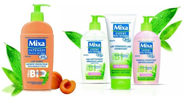 cosmétique éthique mixa bio
