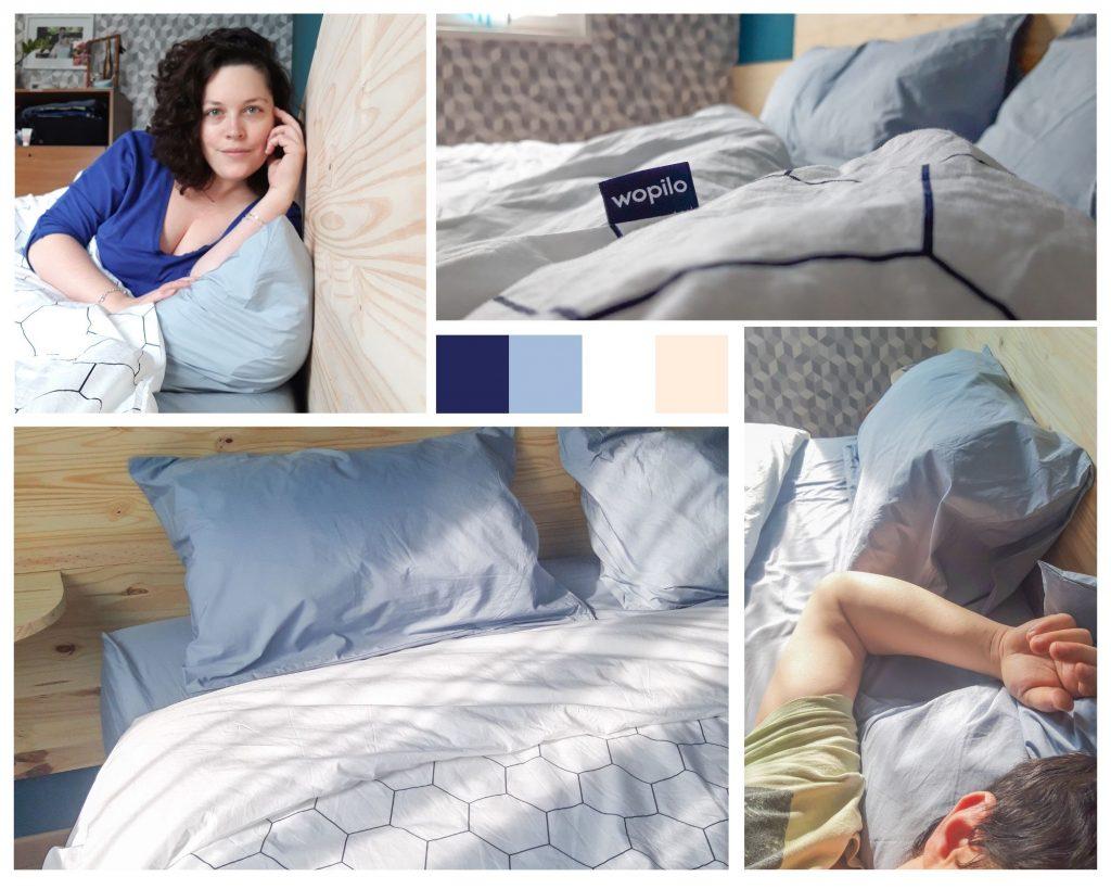 linge de lit wopilo - la parure à mixer